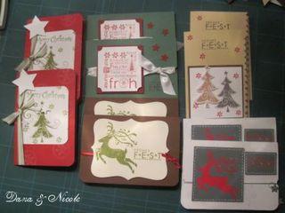 Weihnachtskartenauftrag