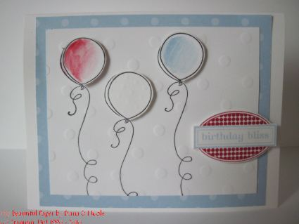 Geburtstagskarte Balloons