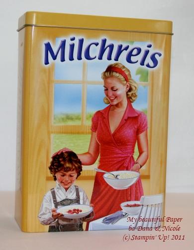 Milchreis-Dose