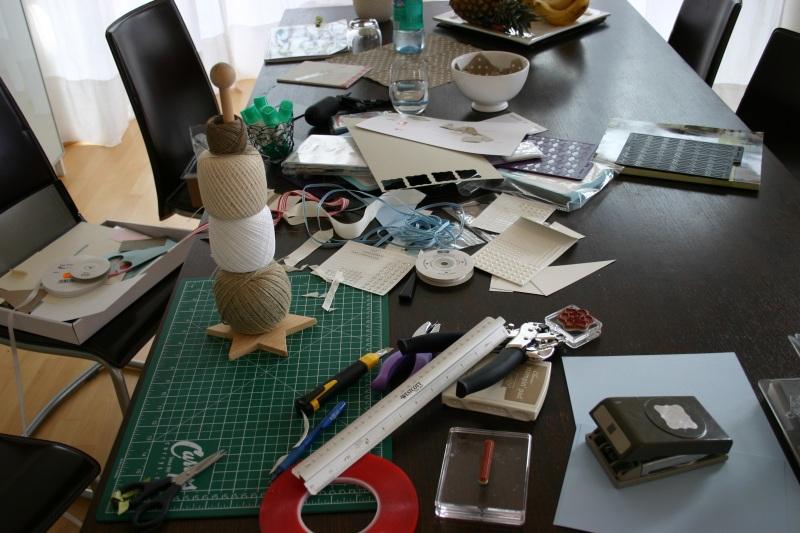 Chaos auf meinem Tisch