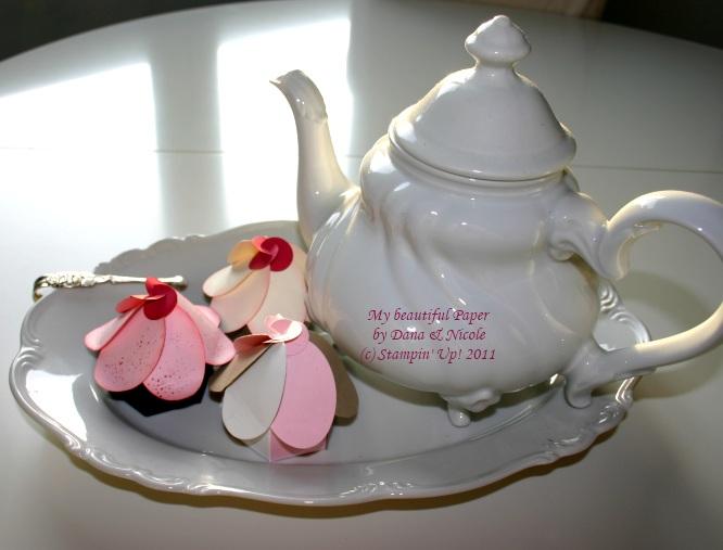 Cupcakes mit Teekanne