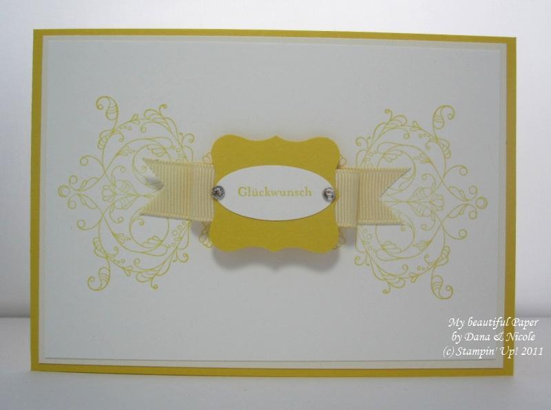 Glückwünsche gelb