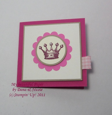 Karte Princess