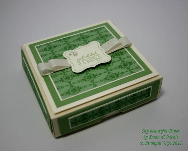 Macaron-Verpackung