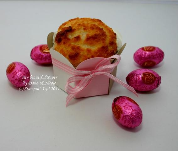 Muffin von der Seite