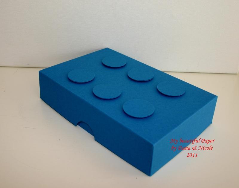 Lego-Stein-Karton
