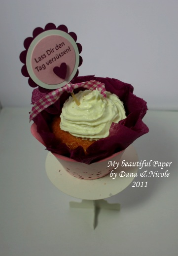 Cupcake auf Ständer