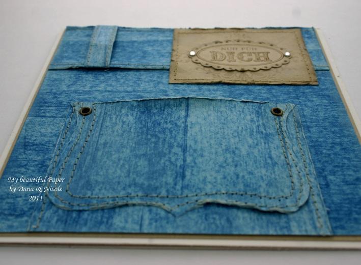 Blue Jeans Tasche