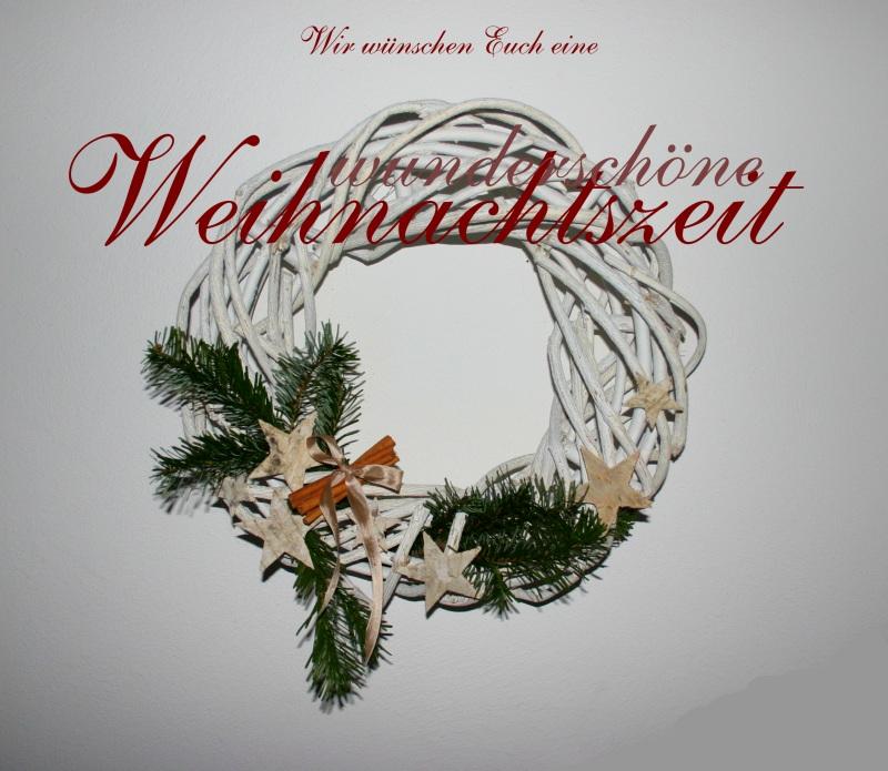 Eine wunderschöne Weihnachtszeit!