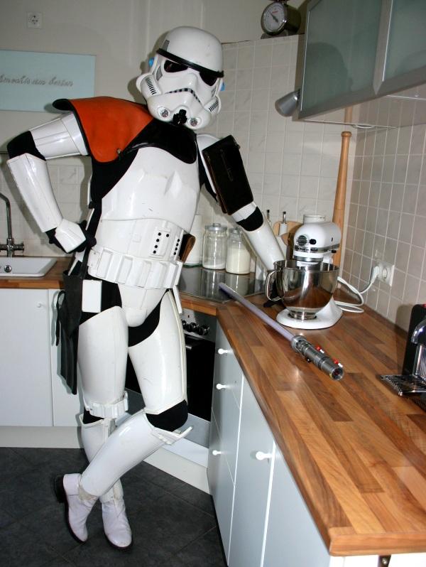 Stormtrooper in meiner Küche