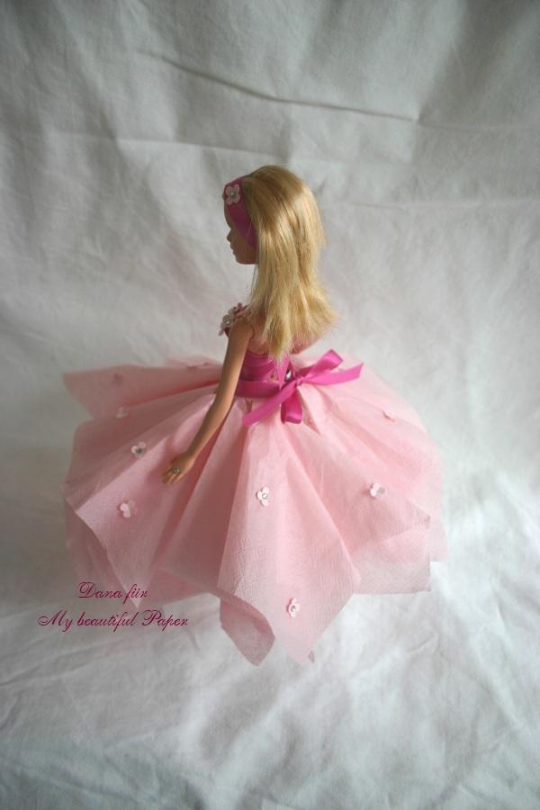 Kleid von hinten