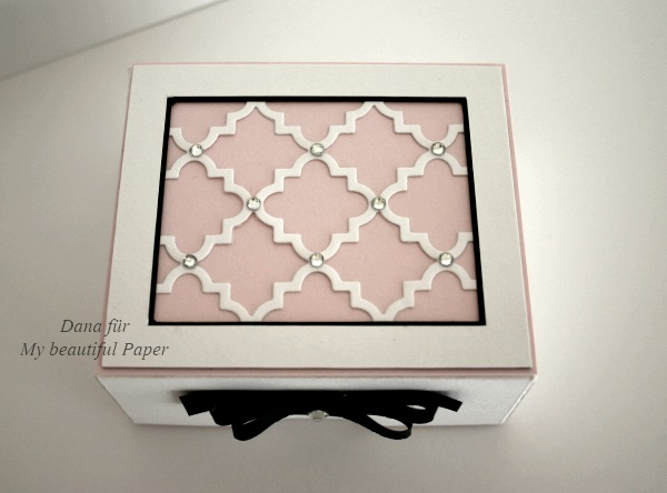 Elegante Box von oben