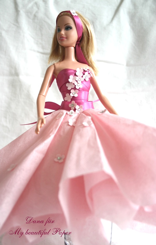 Barbie's rosa Traumkleid