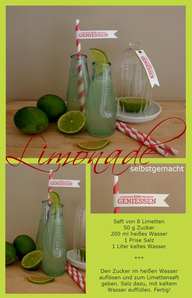 Limonade selbstgemacht