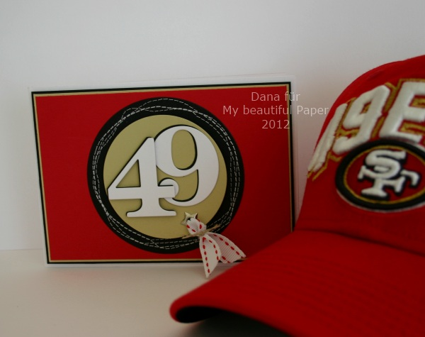 49er Cap und Karte