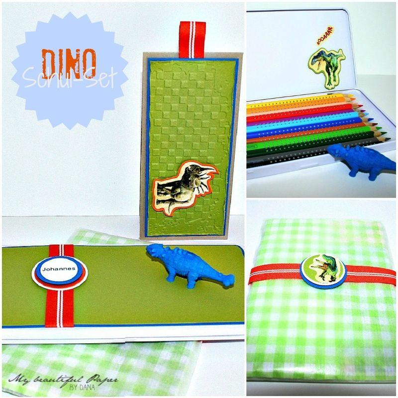 Dino Schul-Set