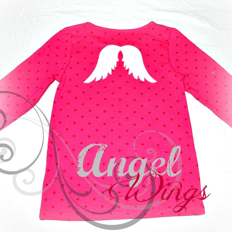 Angel Wings on T-Shirt