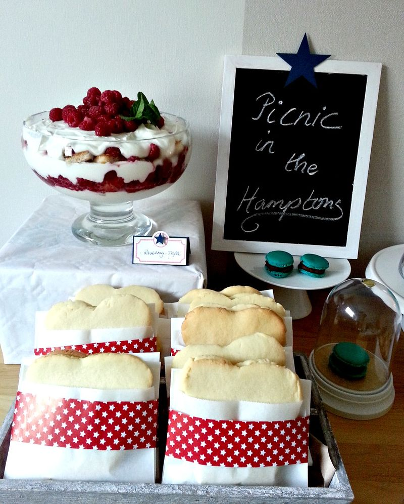 Trifle & Sweet Sandwiches by Esther