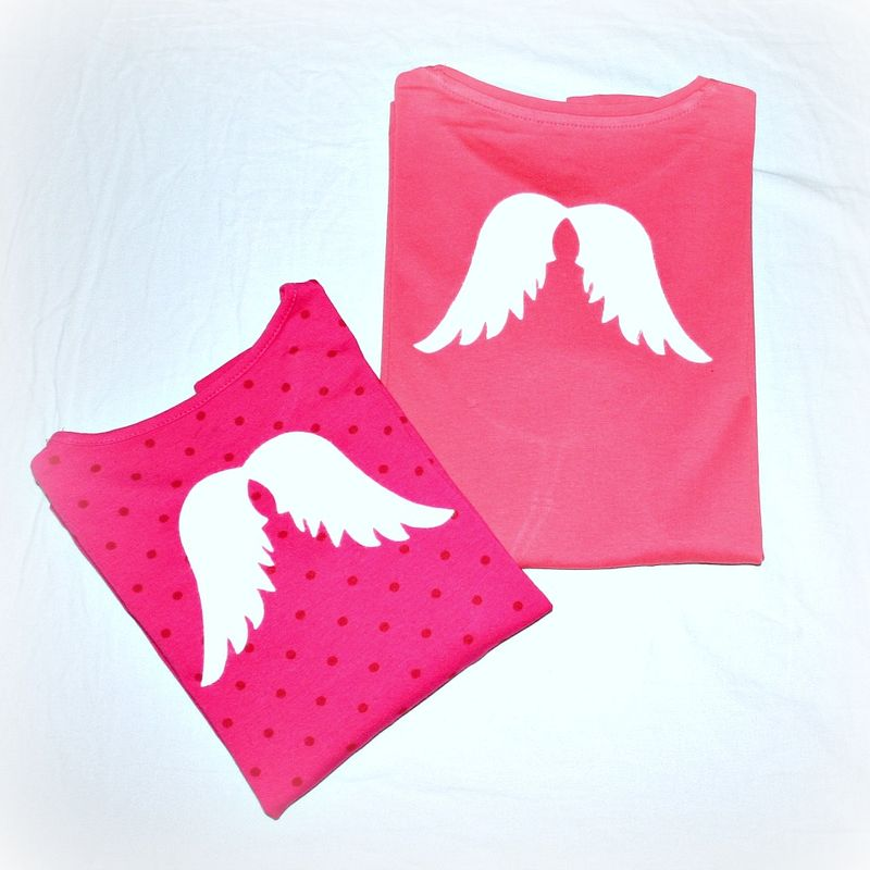T-Shirts with Angel Wings