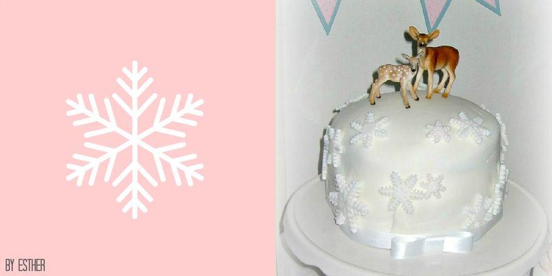 Schneeflöckchen-Torte