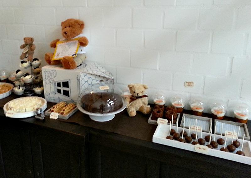 Sweet Table von rechts