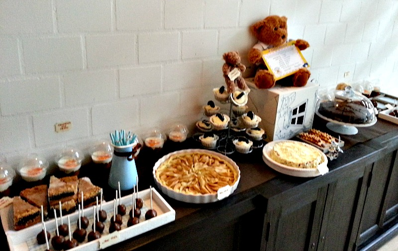 Sweet Table von links