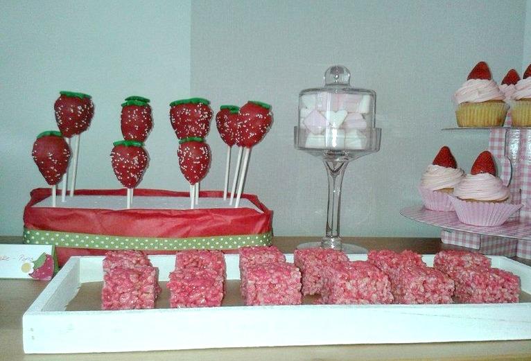 Erdbeer RiceCrispies