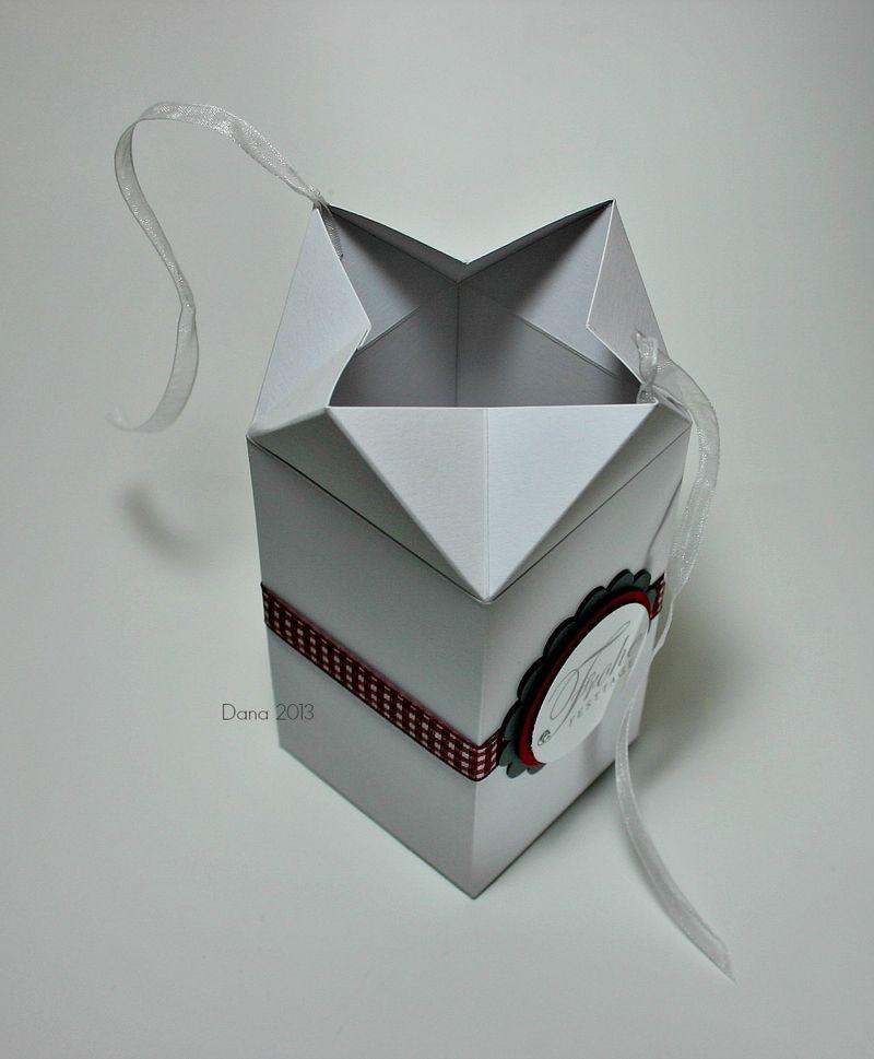 Box mit Knick-Verschluß