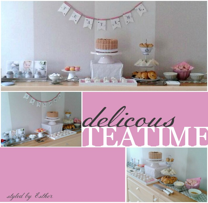 Delicious Teatime styled by Esther