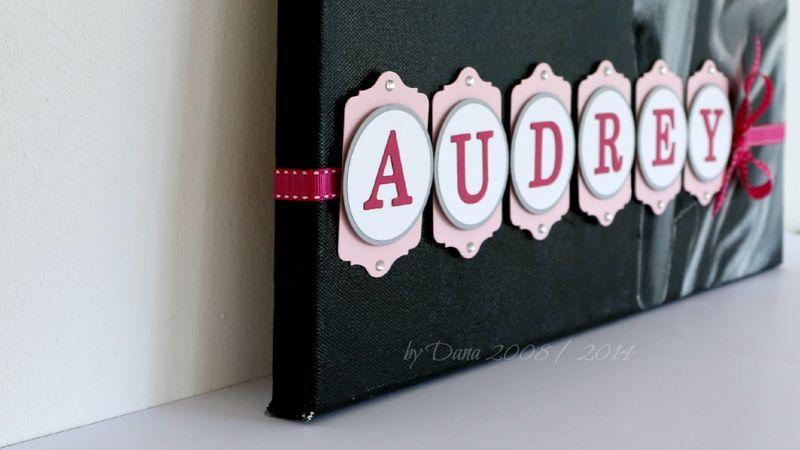 Audrey im Detail