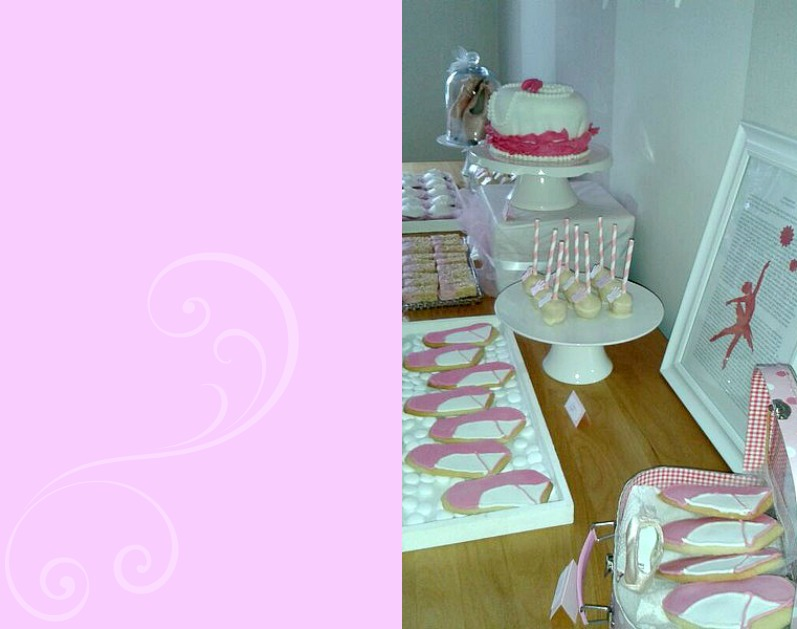 Swan Lake Sweet Table by Esther