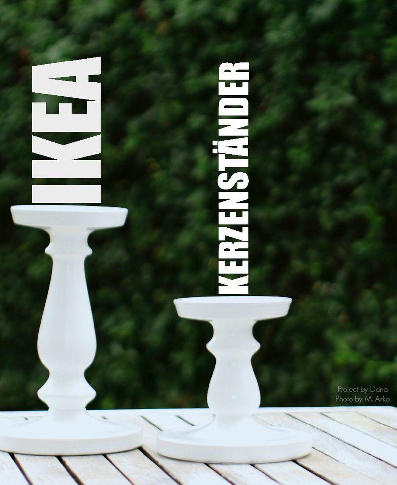 Kerzenständer IKEA